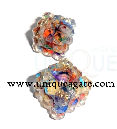 Orgone Cube Pyramids