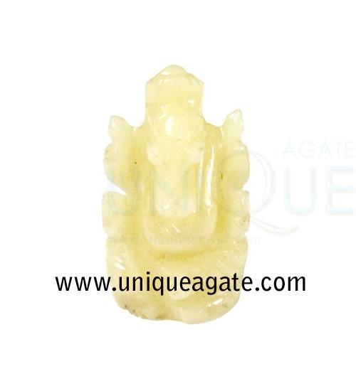 Cream-Moonstone-Ganesha