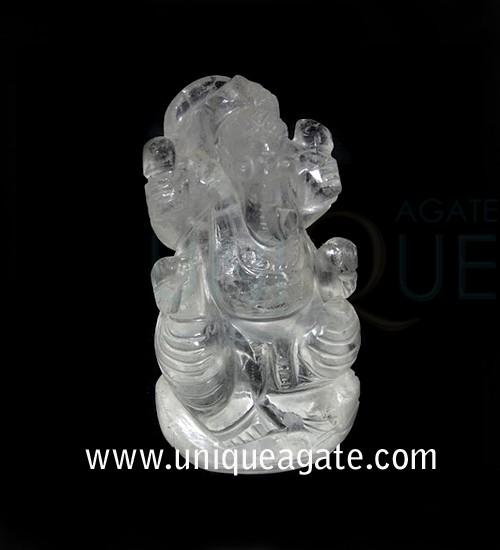 Crystal-Quartz-Ganesha