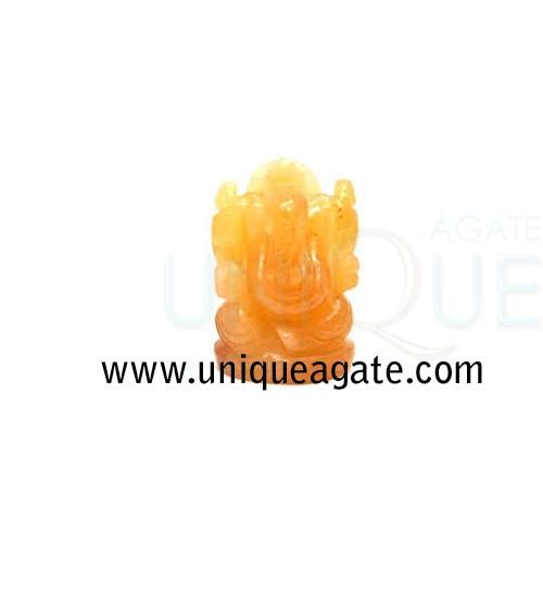 Golden-Quartz-Ganesha