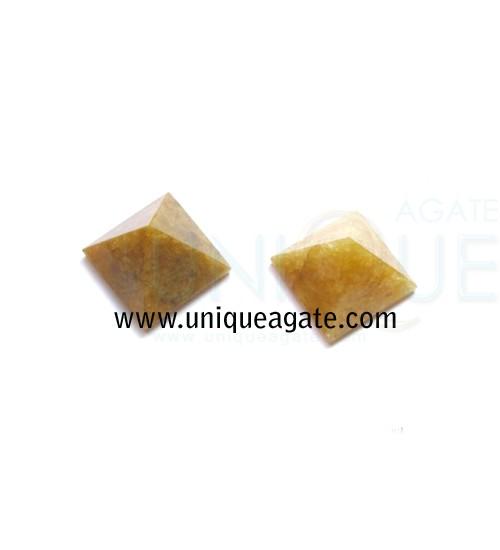 Golden-Quartz-Pyramid