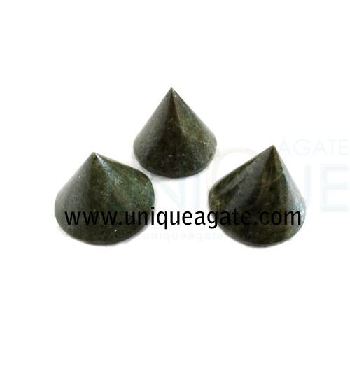 Grass-Jasper-Conical-Pyrami