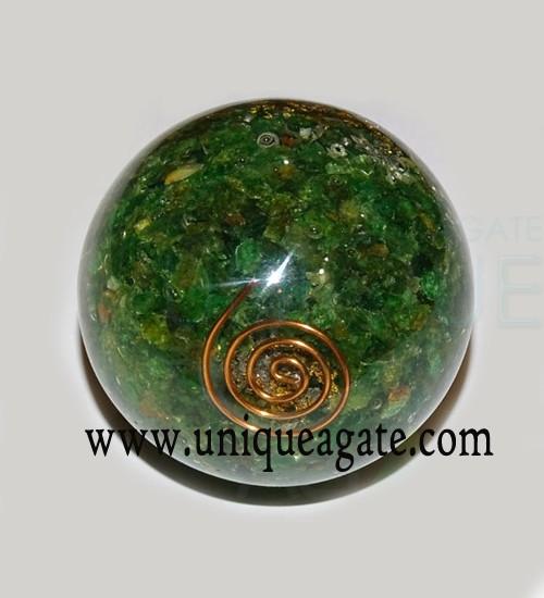 Green-Aventurine-Orgone-Bal