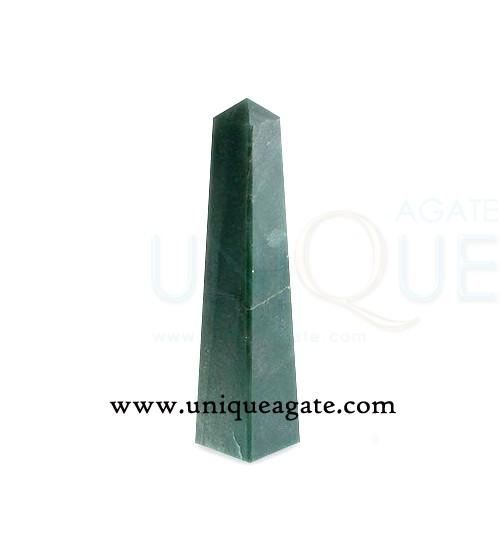 Green-Quartz-Obelisk