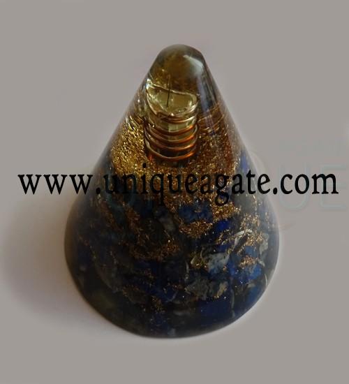 Lapiz-Lazuli-Orgonite-Cone-
