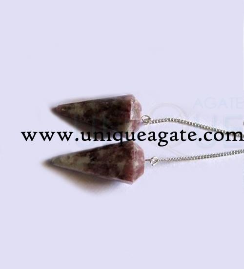 Lepidolite-Faceted-Pendulum