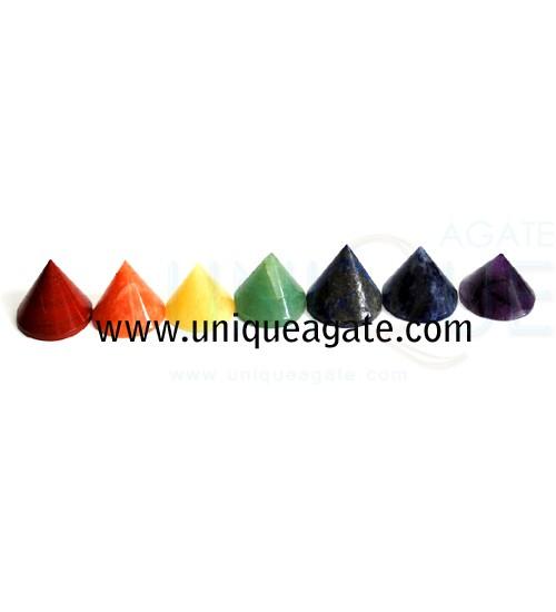 Mix-Stone-Conical-Pyramids