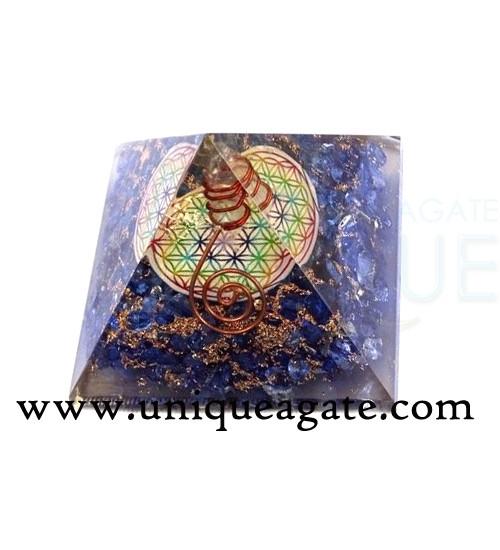 Orgone-Indigo-Chakra-Pyrami
