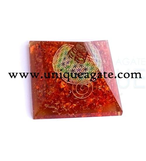 Orgone-Orange-Chakra-Pyrami