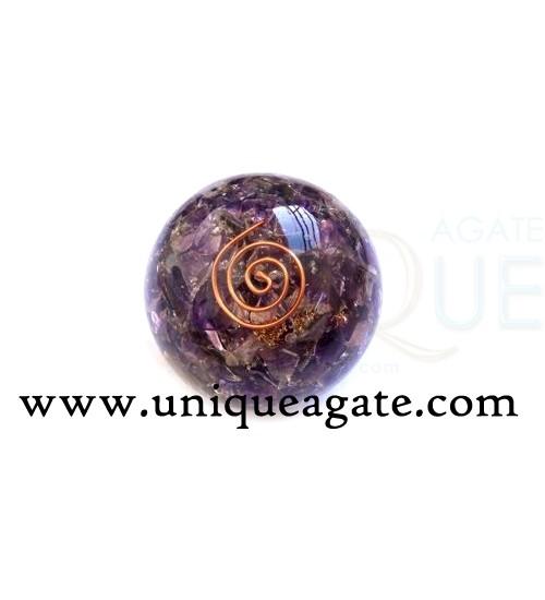 Orgonite-Amethyst-Ball