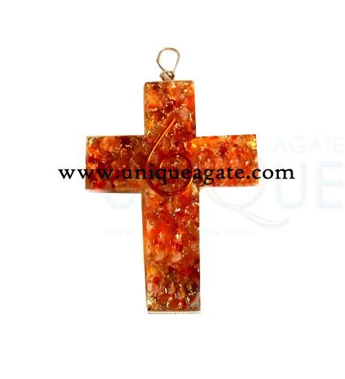 Orgone Religious Cross Pendants