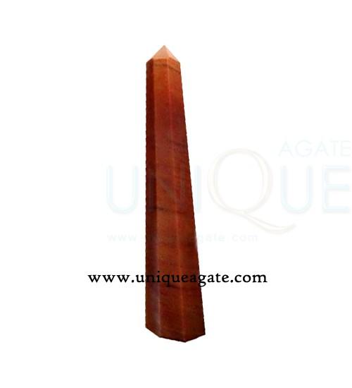 Peach-Aventurine-Obelisk