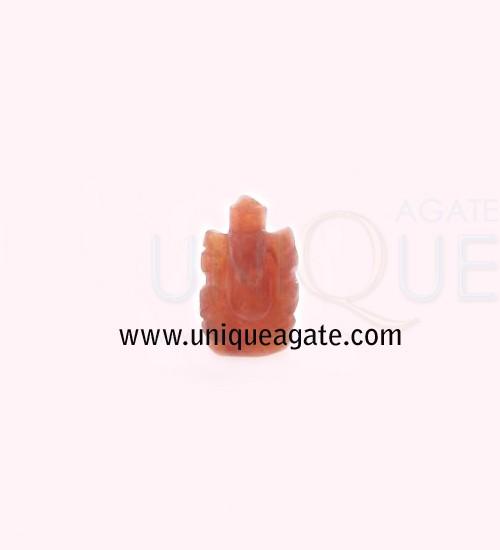 Red-Aventurine-Ganesha