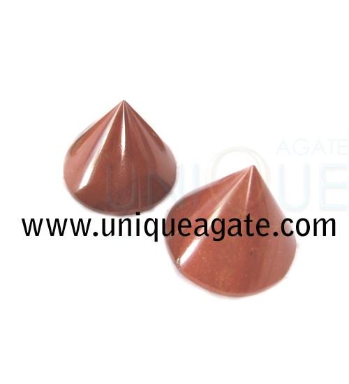 Red-Jsper-Conical-Pyramids