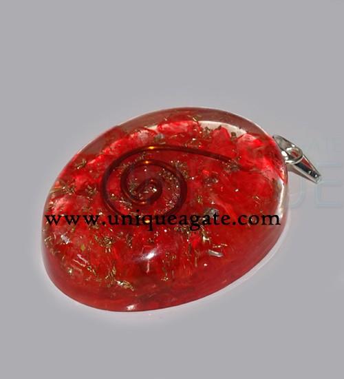 Red-Onyx-Orgone-Oval-Pendan