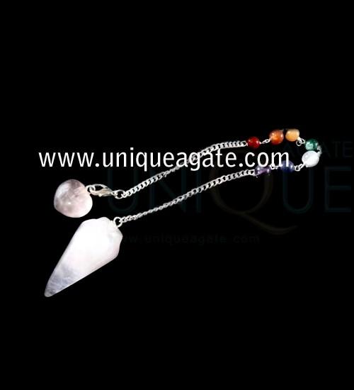 Rose-Quartz-Bullet-Pendulum