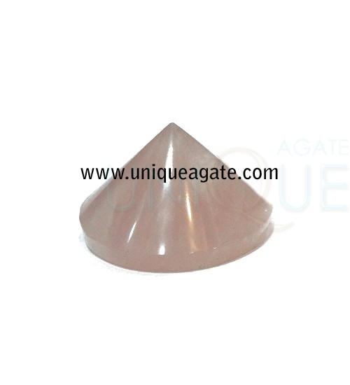 Rose-Quartz-Conical-Pyramid