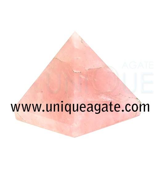 Rose-Quartz-Pyramid