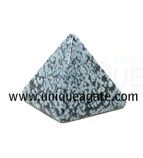 SnowFlake-Obsidian-Pyramid