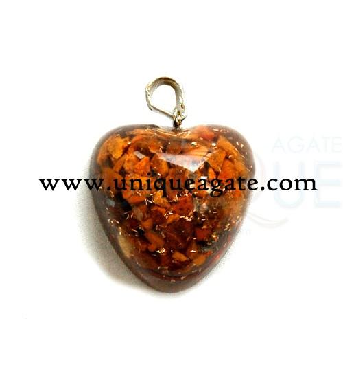 Orgone Heart Pendants