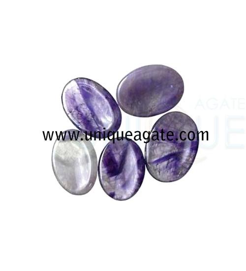 Amethyst-Worry-Stones
