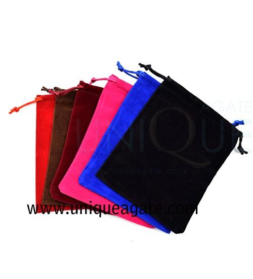 Mixed-Colour-Valvet-Pouch