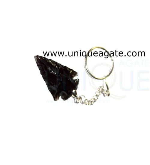 Black-Obsidian-Arrowhead-Ke