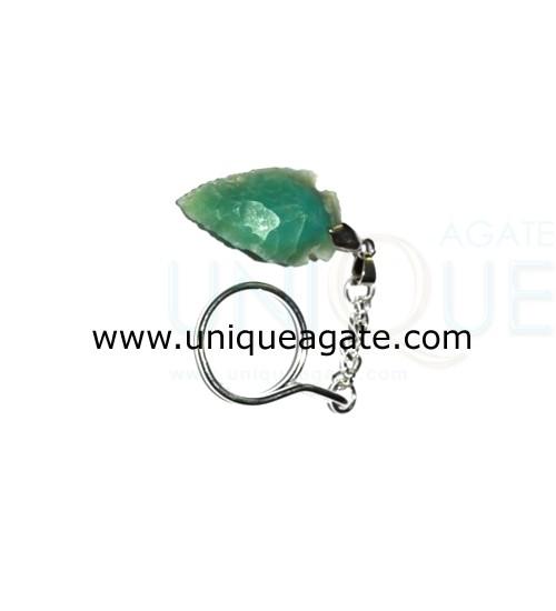 Green-Onyx-Arrowhead-Keyrin