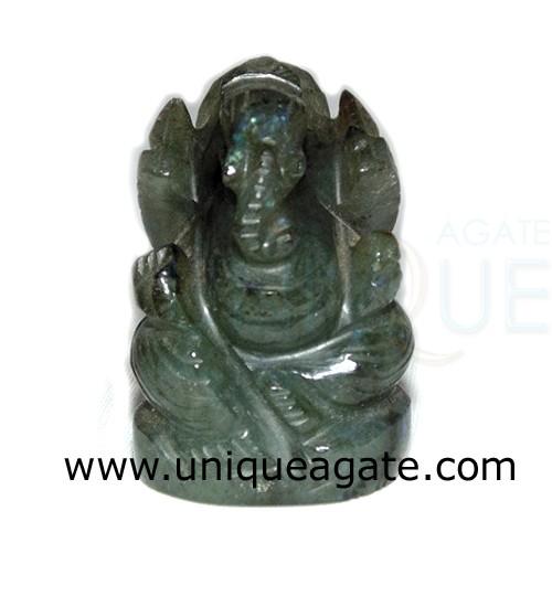 Labradolite-Ganesha-Idol