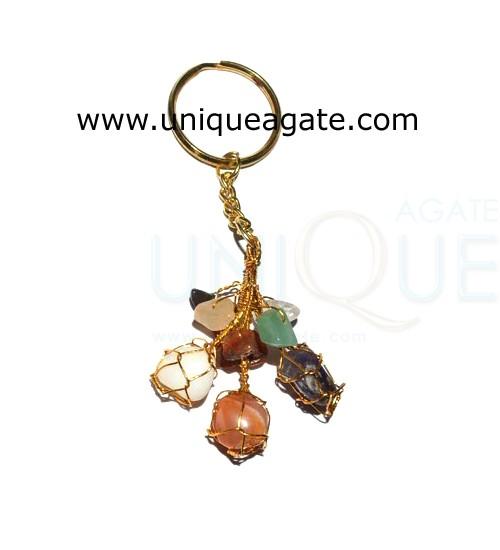 Gemstone Keyrings
