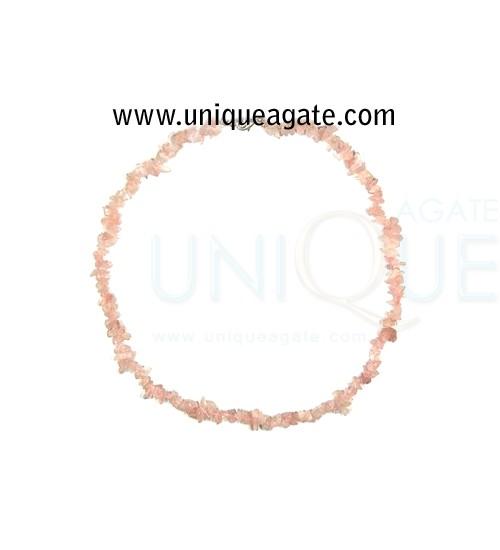 Rose-Quartz-Chips-Necklace