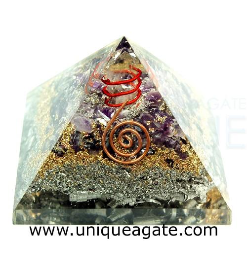 Amethyst-Orgonite-Pyramid