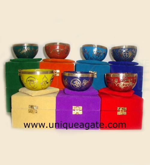 Tibetan Aluminium Singing Bowls