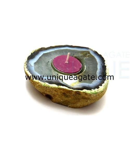 Agate-Flat-Tea-Candle-Light