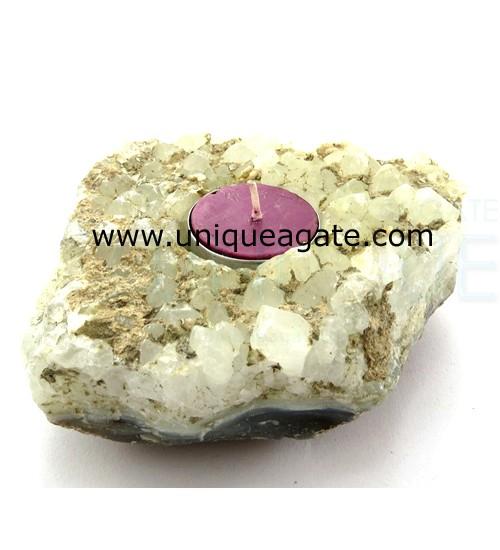 Agate-Geode-Tea-Light-Candl