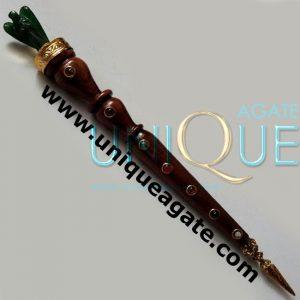Wooden-Stick-With-Green-Jad
