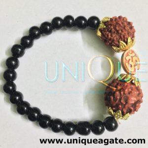 Black-Beads-Rudraksha-Brace