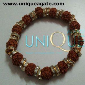 Diamond-Rudraksha-Bracelet