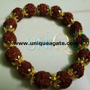 Golden-Rudraksha-Bracelet