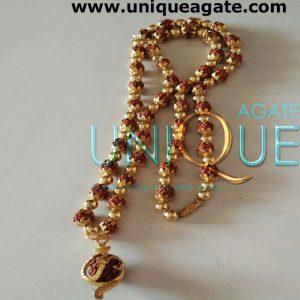 Golden-Rudraksha-Mala-With-