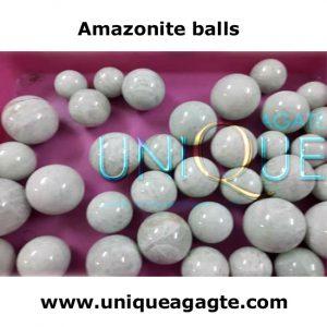 Amazonite-gemstone-balls/Speheres