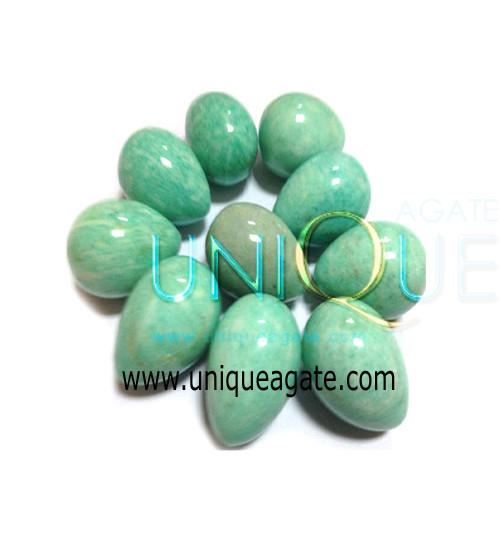 Amazonite-Gemstone-Eggs