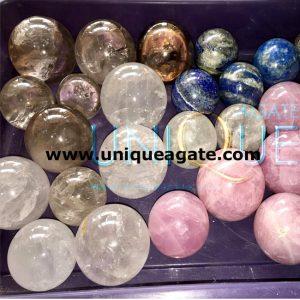 Assorted-Gemstone-Balls/S
