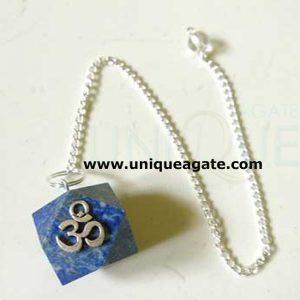 Lapis-Lazule-Om-Pendulum
