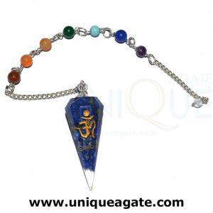 Lapiz-Lazuli-Orgone-Cone-Om