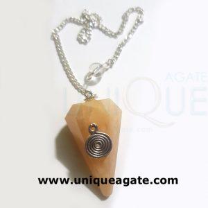 Golden-Quartz-Ring