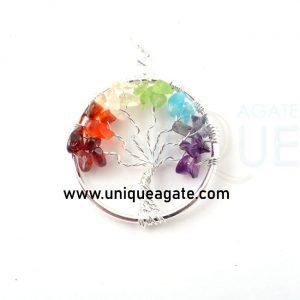 Chakra-Tree-Of-Life-Pendant